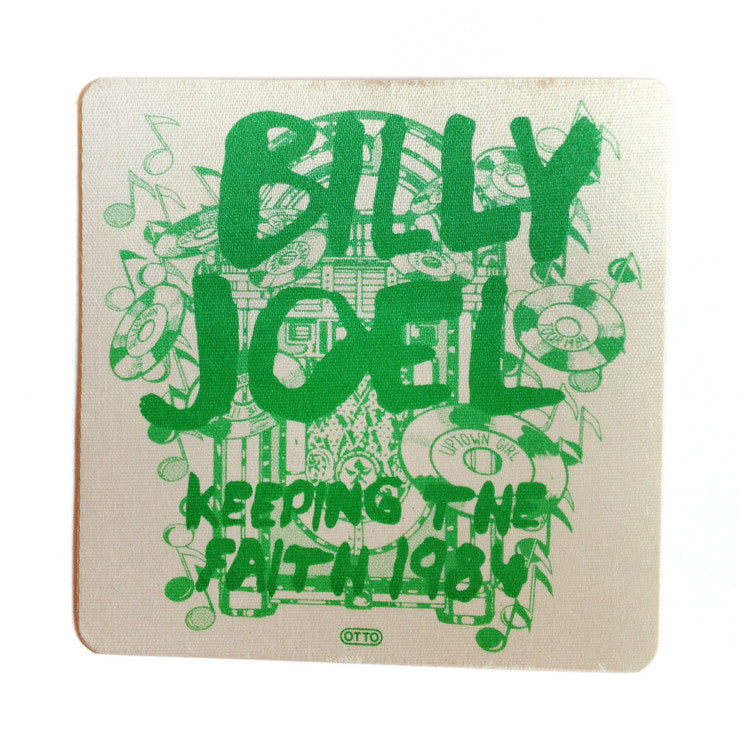 Billy Joel 1984 Backstage Pass
