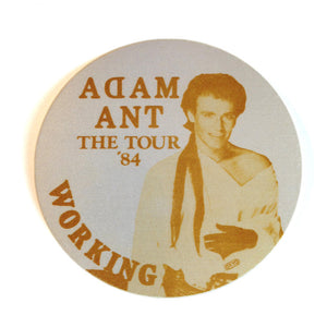Adam Ant Backstage 84 Pass