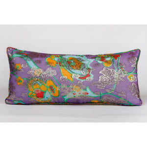 9 x 20 Vintage Fabric Pillow