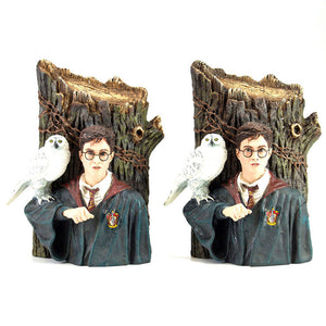 Harry And Hedwig Bookends