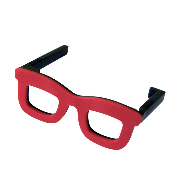 Bag Hanger Glasses Red