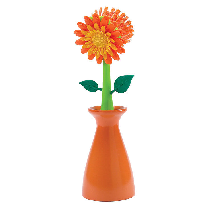 Flower Kitchen Brush Orange