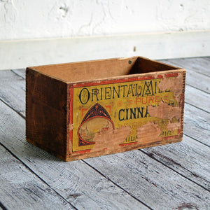 Cinnamon Advertising Box