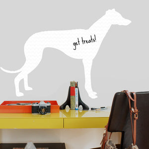 Greyhound Dry Erase Decal