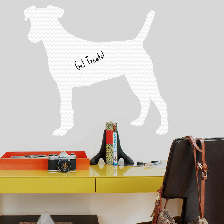 Jack Russell Dry Erase Decal