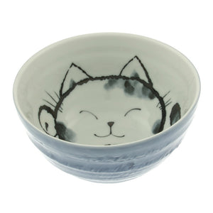 Cat Bowl 6.25\ Blue""