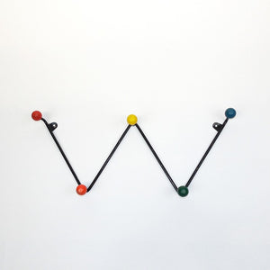 French Atomic Ball Coat Rack