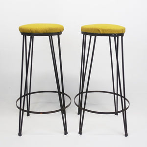 Hairpin Bar Stool Pair