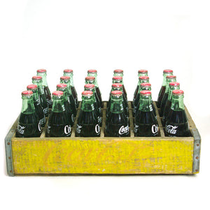 Coke Bottles And Wood Crate