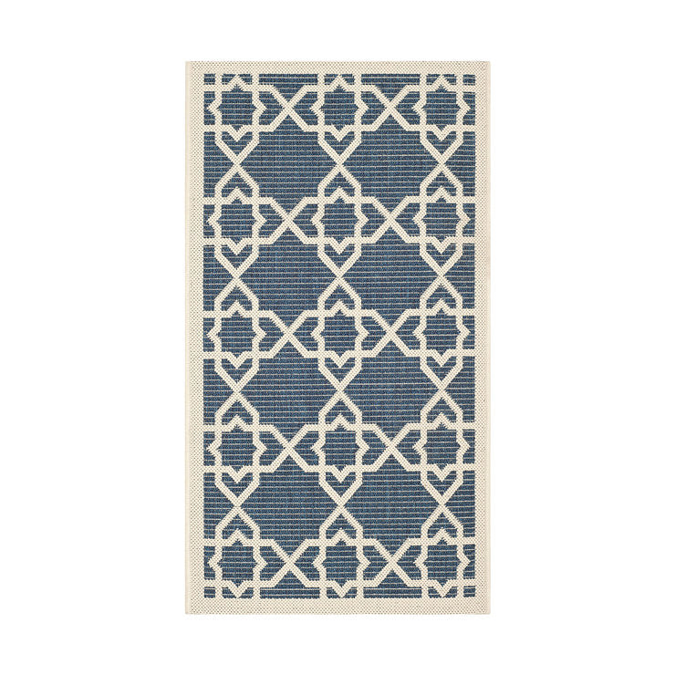 Courtyard Rug 2x3'7 Navy