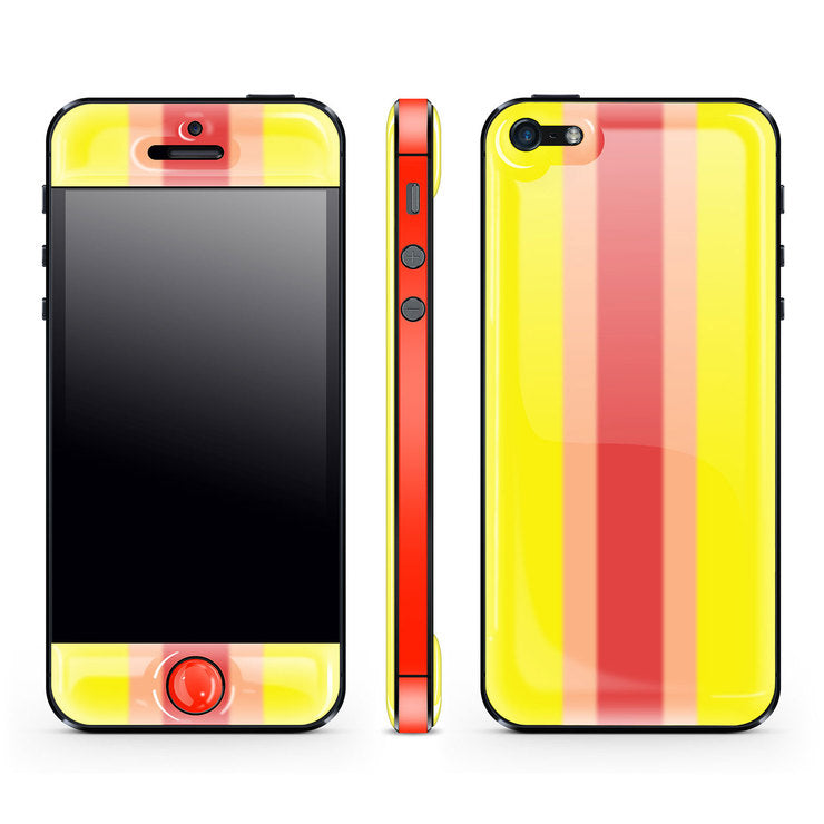 iPhone 5 Glow Gel Lemon Red