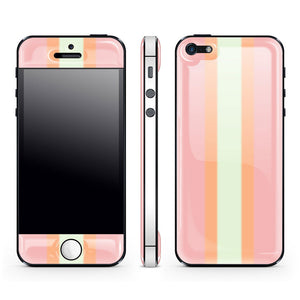 iPhone 5 Glow Gel Bubblegum Wht