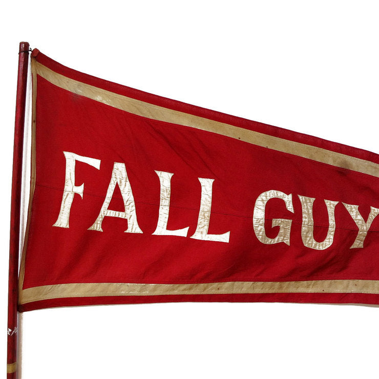 Antique Fall Guy Flag