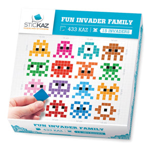 Fun Invader Family Decal
