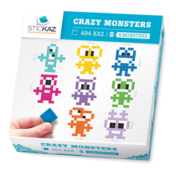 Crazy Monsters Decal