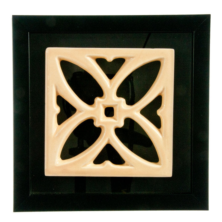Framed Decorative Porcelain Tile