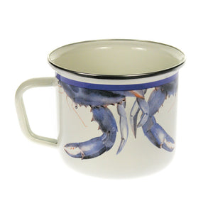 Blue Crab Grande Mug Set Of 2