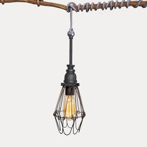 Industrial Cage Light Chevron