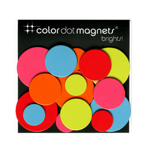 Color Dots Bold Magnets 2 Pack
