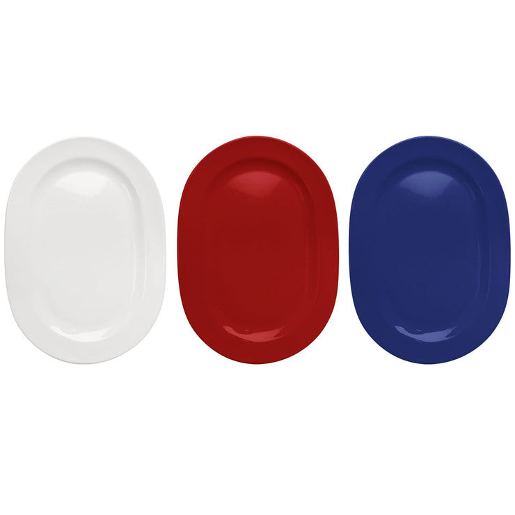 Oval Platter Set Of 3