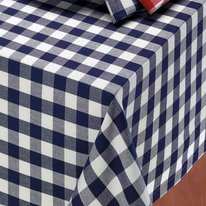 Navy Tablecloth Large