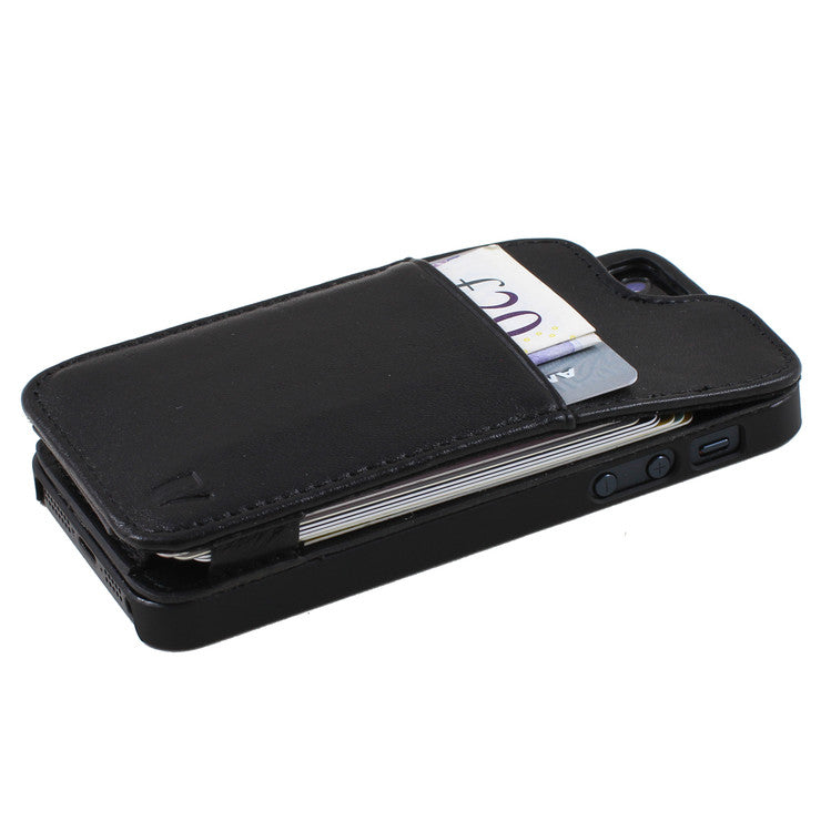 iPhone 5/5S Wallet Case Black