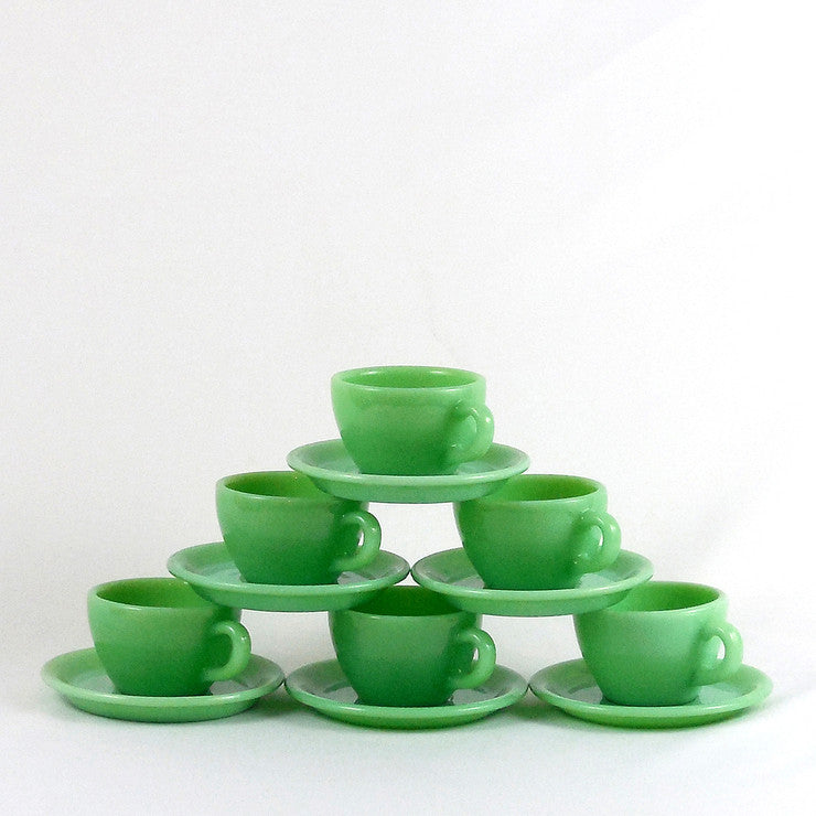 12 Piece Jadeite Set