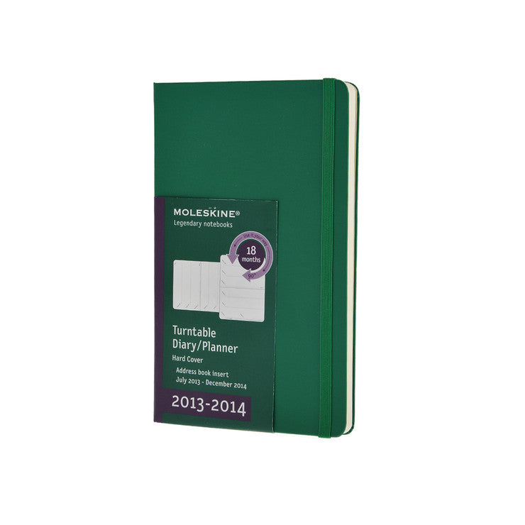 18-Month L Hard Cover Green