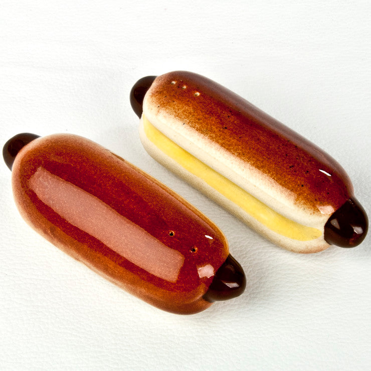 Hot Dog S&P Shakers