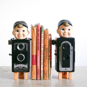 Found Objects Bookends III