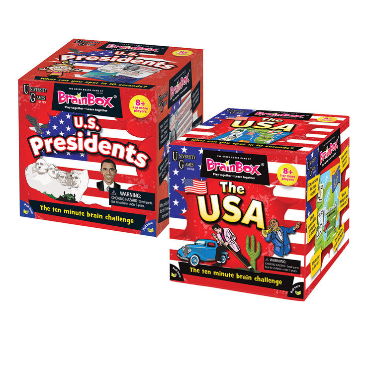 Brain Box Set Of 2 America