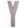 Reclaimed Letter Y Large