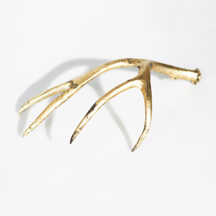 Antler Accent Large Gold