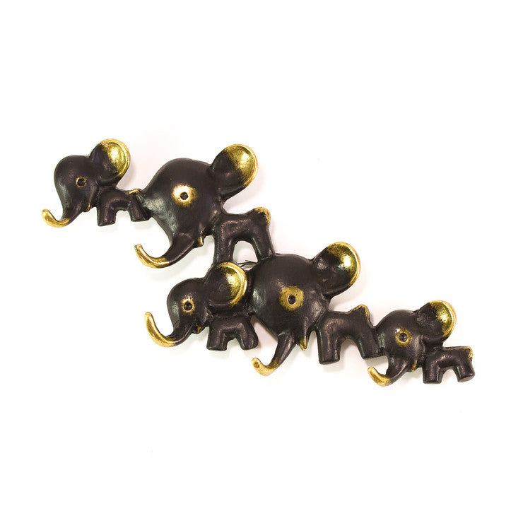 Elephant Herd Key Rack