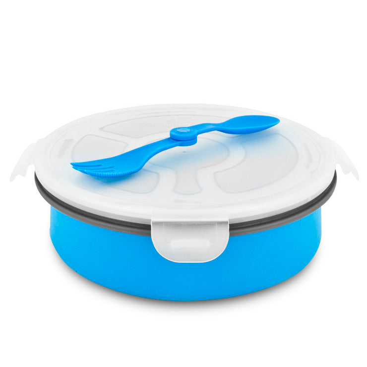 Deluxe Salad Bowl Blue