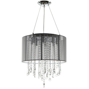 "Beverly Drive Chandelier 16"" Slv"