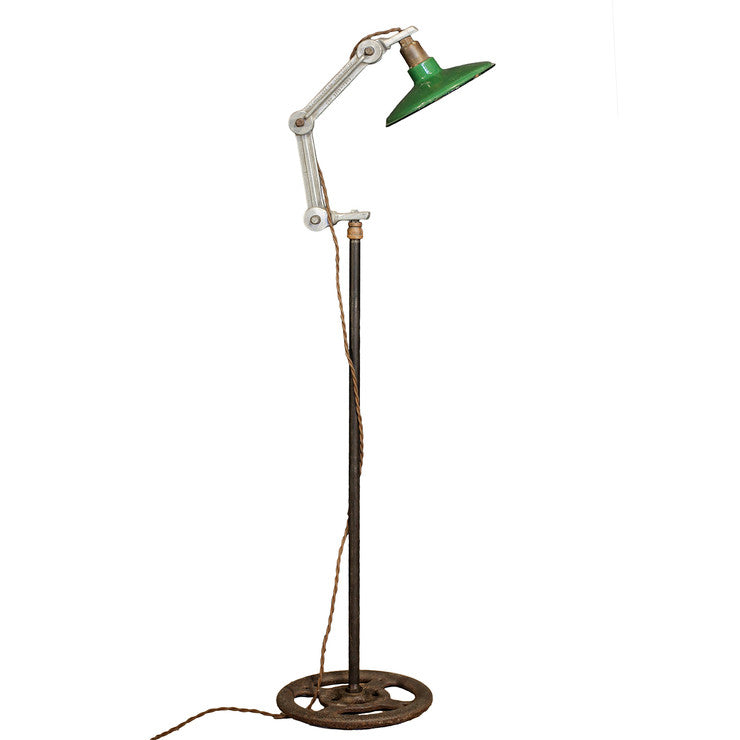 Industrial Lamps Green