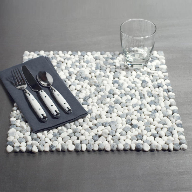 Beach Stone Placemat Marble