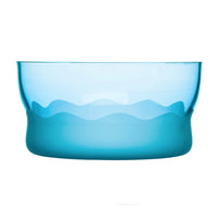 Aqua Wave Serving Bowl Turquoise