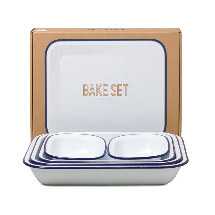 Bake Set Original Blue Rim