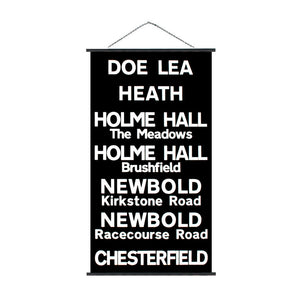 Doe Lea Chesterfield Sign