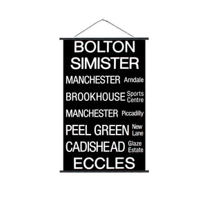 Bolton Eccles Trolley Sign
