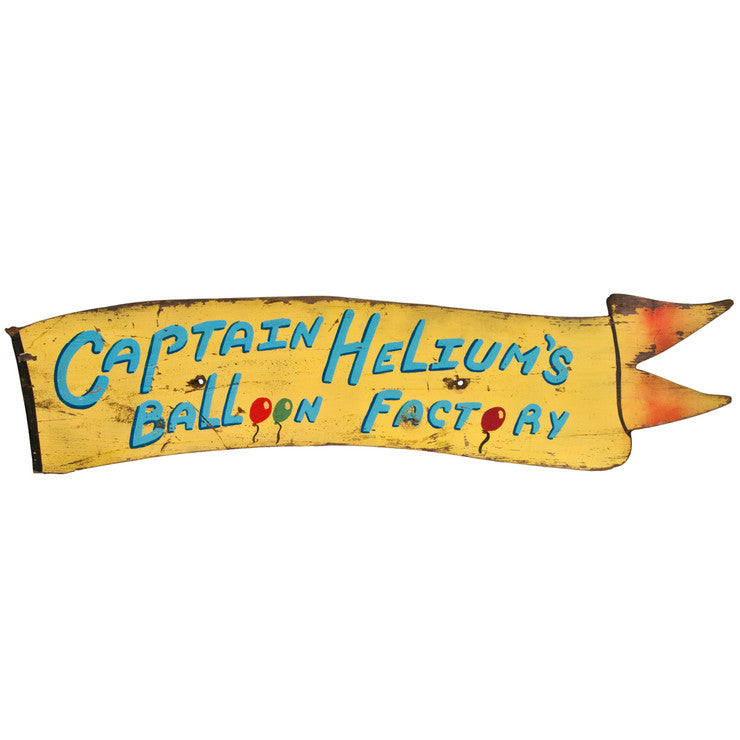Captain Helium's Factory Sign R