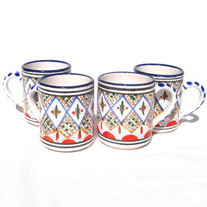 Tabarka Coffee Mug Set Of 4