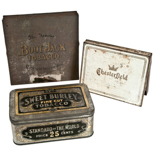 Cigar & Tobacco Tin Trio II