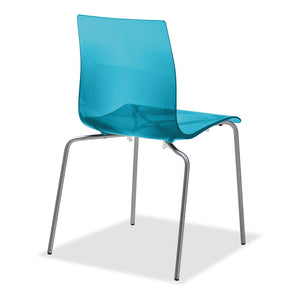 Gel B Chair Transparent Blue