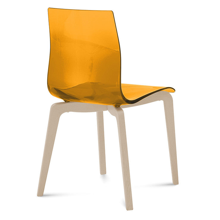 Gel S Chair Orange Natural