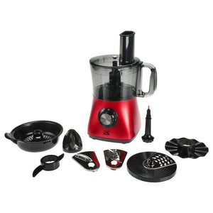 4-Cup Food Processor Red