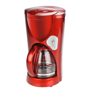 8 Cup Coffee Maker Red
