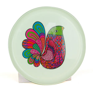 1960S Psychedelic Bird Tray